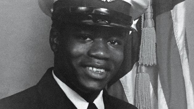 Walter Scott in his Coast Guard days.