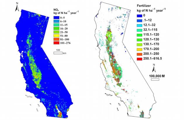 Fertilizer map