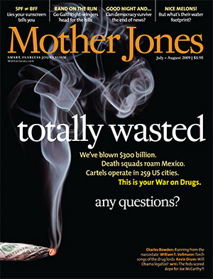 Mother Jones July/August 2009 Issue