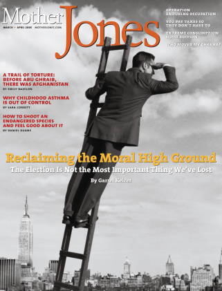 Mother Jones March/April 2005 Issue