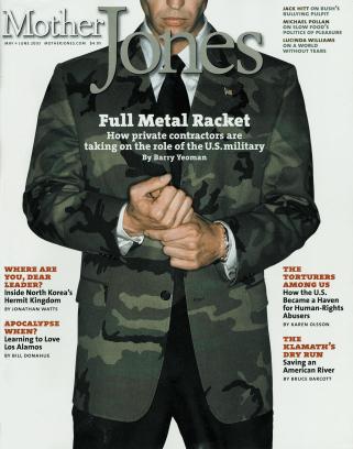 Mother Jones May/June 2003 Issue