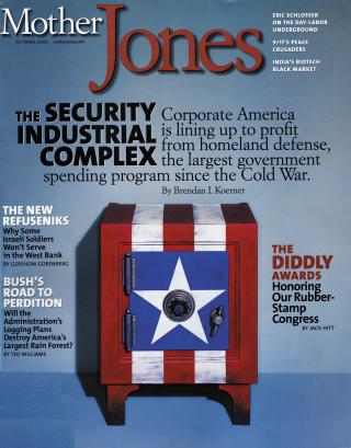 Mother Jones September/October 2002 Issue