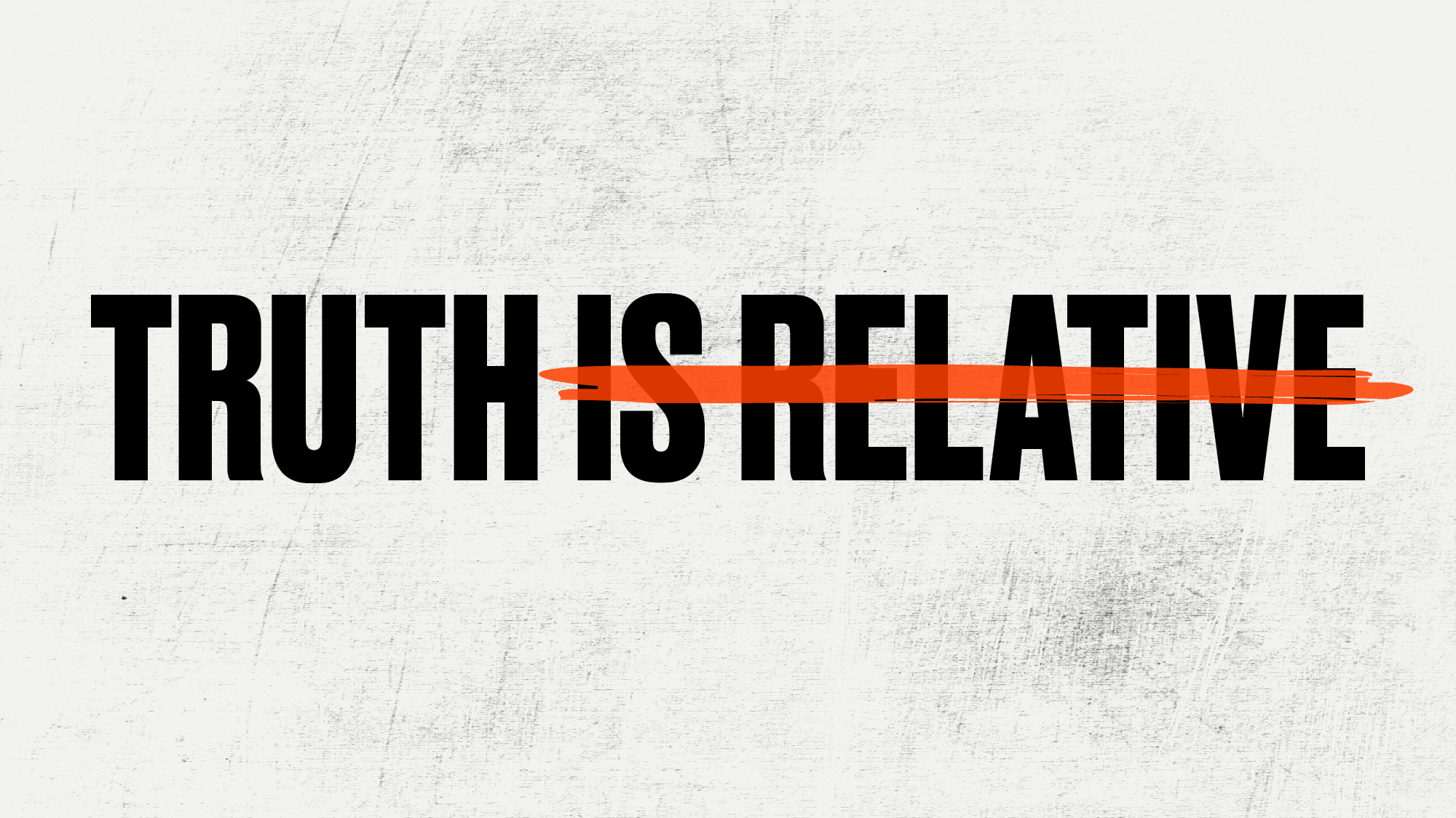 Truth is relative illustration