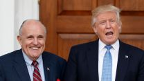 Donald Trump with Rudy Giuliani