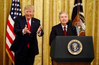 Donald Trump, Lindsey Graham