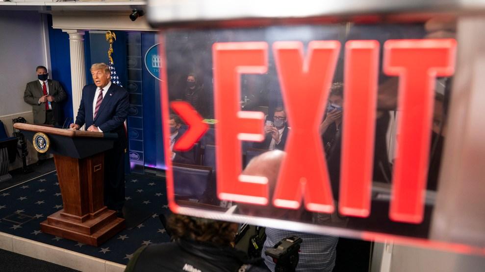 Trump Exit