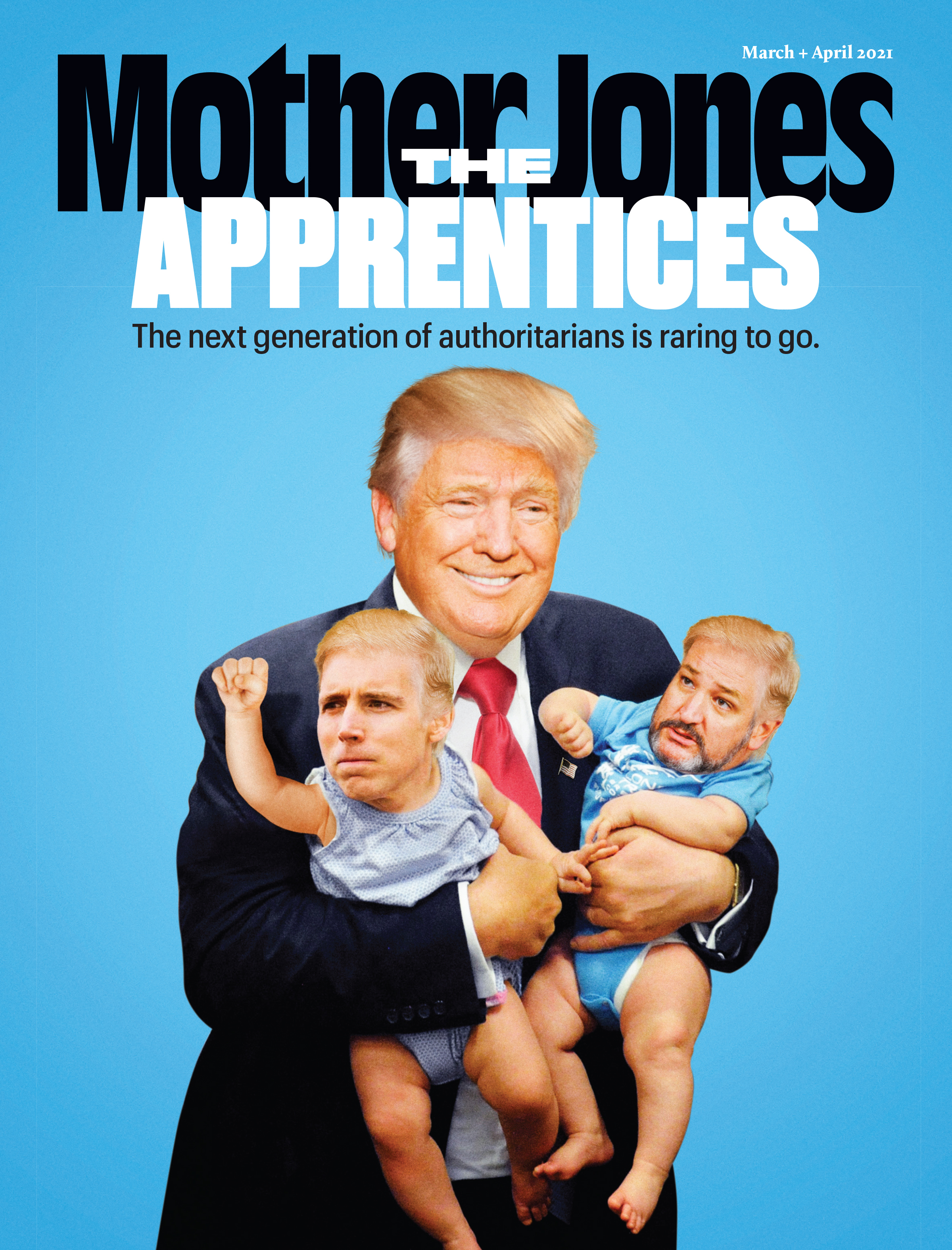 Mother Jones Magazine Cover : November + December 2019