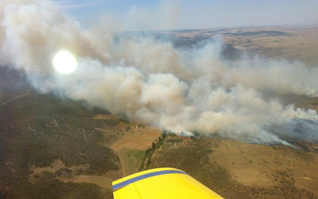 Cooma Fire
