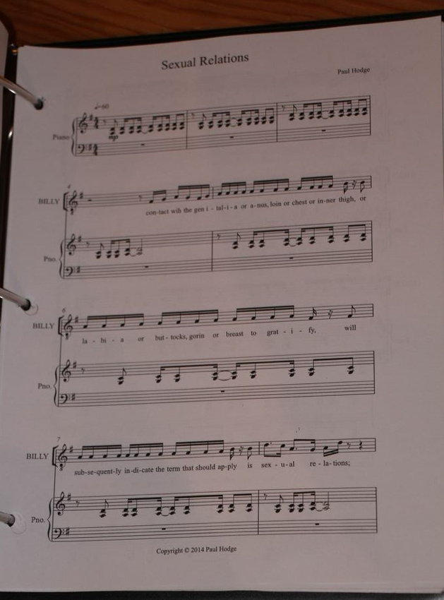 Clinton: The Musical sheet music