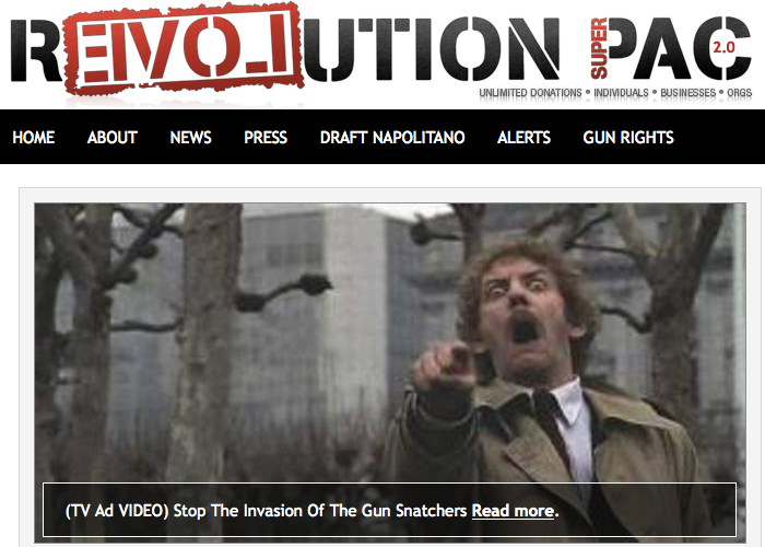 revolution pac guns invasion of the body snatchers