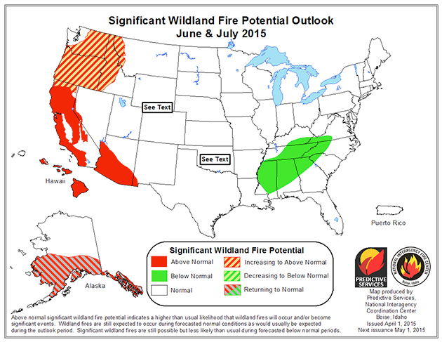 fire outlook