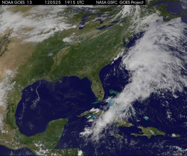 94L at 1915 Zulu on 25 May 2012 NASA | NOAA | GOES Project Science