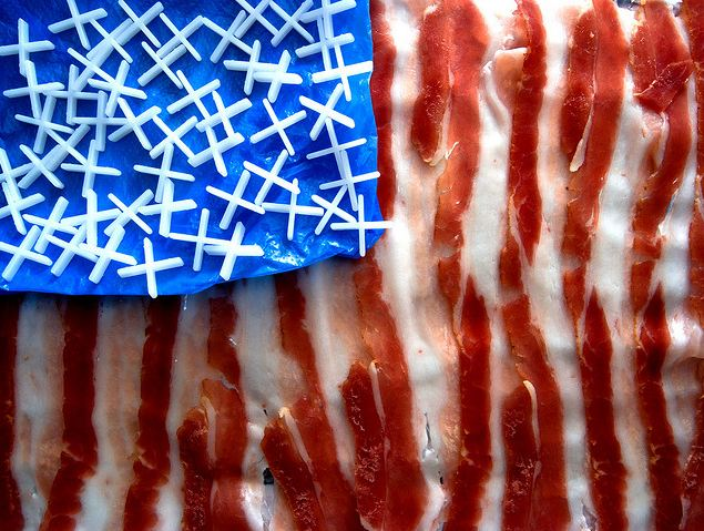 The Greatest Bacon In The World. Martino's doodles/Flickr