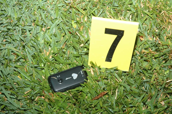 A cellphone found at the crime scene, believed to be Trayvon Martin's: State of Florida