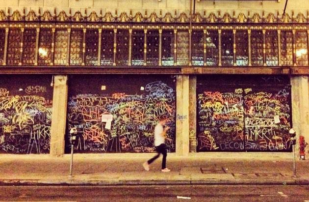The Chalk Walk in Los Angeles Jason Neville/Twitter