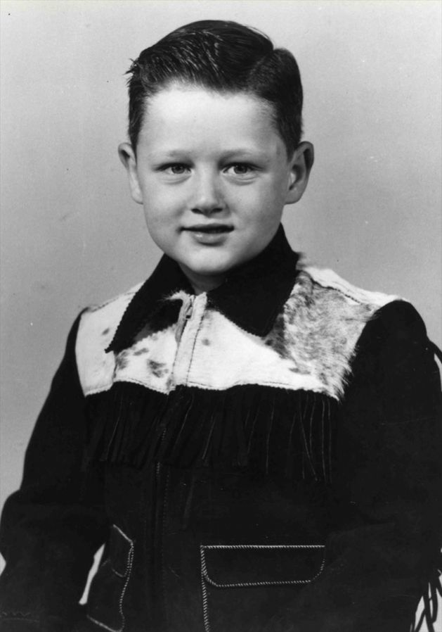 William Jefferson Blythe, age five, 1952.