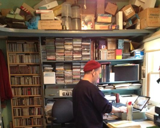 MacKaye in his office.