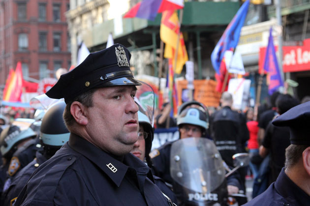 Happy May Day, officer!: James West