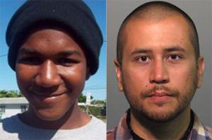 Photos by Jerome Horton (Martin) and Seminole County Sheriff's Office/Zuma Press (Zimmerman)
